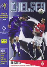 CHELSEA v AS MONACO UEFA CHAMPIONS LEAGUE SEMI-FINAL 2003/04