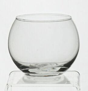Glas Vase Kugelvase H8 D10 transparent HC