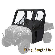 BLACK CAB ENCLOSURE for 2016 2017 2018 POLARIS RANGER 570 FULL-SIZE & 6x6 & 800
