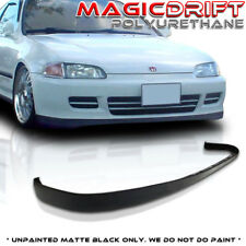 92 95 Honda Civic EG JDM Front Bumper PU Lip URETHANE SiR OE Body Kit
