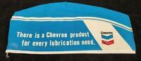 Vintage Chevron Gasoline Motor Oil Service Station Cadet Hat Size 7 1/4 NOS