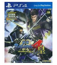 SENGOKU BASARA 4 SUMERAGI PlayStation PS4 2015 Asia Japanese Pre-Owned