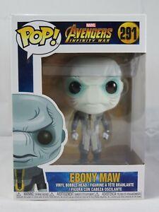 Marvel Funko Pop - Ebony Maw - Avengers Infinity War - No. 291 - Free Protector