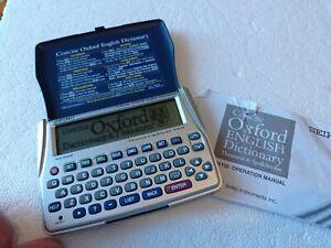 Seiko ER6100 Concise Electronic Oxford Thesaurus Spellchecker ~ VGWO
