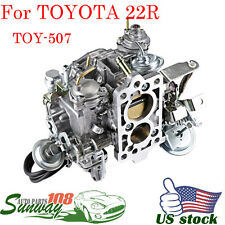 New Carburetor TOY-507 With Square Plug Fits 1988 -1990 Toyota 22R Pickup Engine
