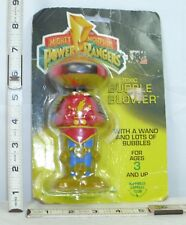 BANDAI MIGHTY MORPHIN POWER RANGERS BUBBLE BLOWER ROBOT FIGURE SEALED 1994