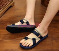 Fashion Summer Mens Thongs Flip Flops Beach Slipper Sandals Shoes Casual Vogue