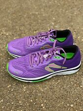 Newton Running Motion 8 Violet/Lime Shoe Size 11.5 Women's new without box