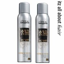 LOREAL TECNI ART CREPAGE DE CHIGNON FIXING SPRAY 200ML x 2