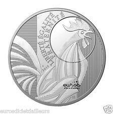 """Coin 10 euros France 2015 """"Le Coq"""" silver 333/1000 - Mint de Paris"""