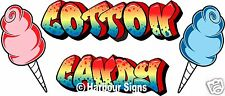 "Cotton Candy Decal 24"" Concession Food Truck Van Vinyl Menu Sticker"