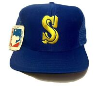 Seattle Mariners MLB Vintage 90's Snapback Cap Hat