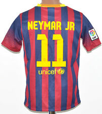 Barcelone Espagne Kids 2013/2014 Home Football Shirt Jersey Nike Neymar #11