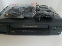 Philips SV2000 4 Head Hi-Fi VHS VCR SVB106AT21 Works Good-Tested with remote