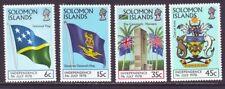 Solomon Islands 1978 SC 369-372 MNH Set Independence