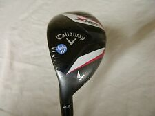 NEW LH 2013 CALLAWAY X HOT 22* 4H 4 HYBRID LADIES FLEX GRAPHITE LEFT HANDED