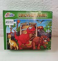 Grafix Dinosaur Park Jigsaw Puzzle 45 Piece Childrens