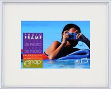 Snap Silver Photo Frame, 5-Inch by 7-Inch