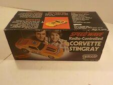 "Vintage 1980s 70s Galoob Speed Wave RC Chevy CORVETTE STINGRAY 1:24 10"""