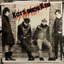 Kotsbrokken 1984 Demo LP Dutch Hardcore Punk Squats Neo Punxs Nixe Kbd