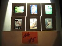 6 Akt Fotos 1950-1960 Jahre.Dias Künstlerische Frauen Akt Fotos-nude photos.N.15