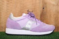SAUCONY 'Jazz' Original Light Purple Suede & Nylon Sneakers Women's Sz. 7
