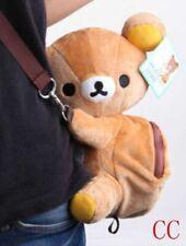rilakkuma brown bear cute shoulder bag huging plush Backpack Kids School Bags