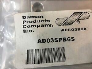 DAMAN AD03SPB6S ALUMINUM BOTTOM PORTED SUBPLATE