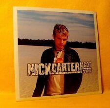 Cardsleeve single CD Nick Carter I Got You 2TR 2002 Pop Rock