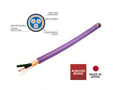 NEW 1.0 meter Acoustic Revive POWER MAX 10000 HiEnd PCOCC-A Power Cable (Japan)