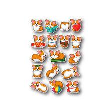 Corgi Mini Stickers
