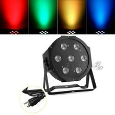 7 X 10W LED DJ Par Light 70W 4in1 RGBW PAR64 DMX Disco Club Lighting 2014 Party