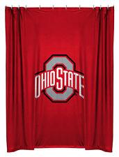 Ohio State OSU Buckeyes Jersey Mesh Shower Curtain IN STOCK