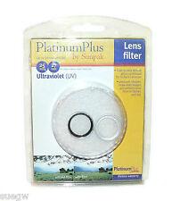 Sunpak Platnum Plus 27mm UV Lens Filter (With Step-Up Ring for 25mm)