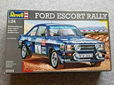 REVELL  FORD ESCORT RALLY    1/24 MODEL KIT