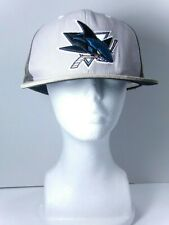 San Jose Sharks NHL Mitchell & Ness adjustable Back Snapback cap/hat Brown
