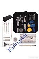 364 Pcs Watchmaker Watch Repair Tool Kit Back Case Opener Remover Spring Pin Bar
