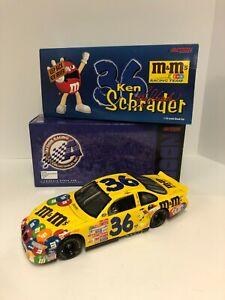Ken Schrader #36 M&M's Racing 2000 Grand Prix Action Nascar Diecast 1/18 Scale