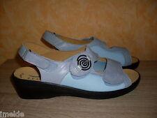Klettsandalette für HALLUX NEU 40 oder 42 G blau grau & Nappaleder von Julia S.