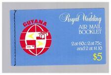 S22858) Guyane 1981 Royal Wedding Diana & Charles Booklet