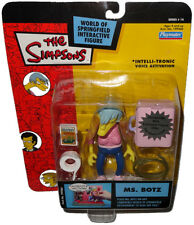 Simpsons Ms. Botz Action Figure MOC Series 14 WOS RARE World Of Springfield Toy!