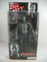NECA Frank MILLERS Sin City Hartigan Black and White Series 1 Action Figure