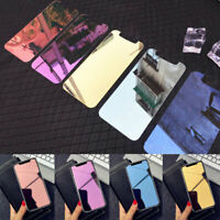 Colorful Mirror Tempered Glass Screen Protector Film For iPhone Xr Xs Max 6 7 8
