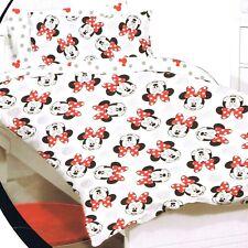 Minnie Mouse - Faces - Disney - Double/US Full Bed Quilt Doona Duvet Cover Set