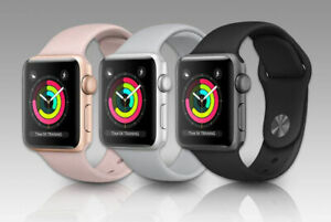 Apple Watch Series 3 38MM 42MM GPS + Cellular  AL Case Sport Band AUS