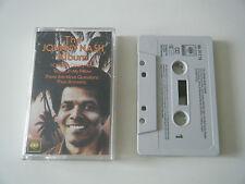 JOHNNY NASH THE JOHNNY NASH ALBUM CASSETTE TAPE 16 GREATEST HITS BEST OF CBS '79