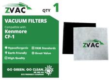 ZVac Kenmore CF1 Sears Progressive Allergen Foam Filters; Fits Kenmore Progre...