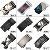 Mens Belts Buckles Fit 3.3cm to 3.6cm Belts Automatic Ratchet Alloy Click Gift