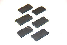 Shungite phone plate against EMF 6 pcs cellular schungit plates protection S069