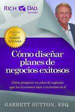 Como Disenar Planes de Negocios Exitosos (Paperback or Softback)